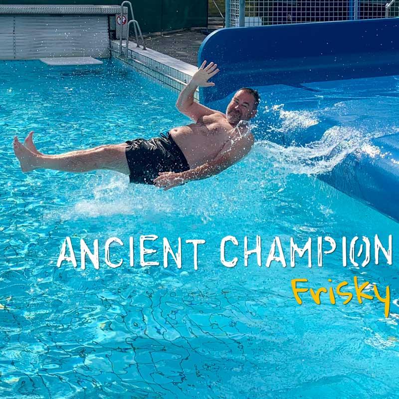 ancient champion frisky cover art